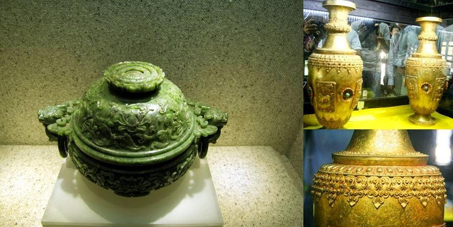 báu vật tại Bảo tàng mỹ thuật cung đình Huế