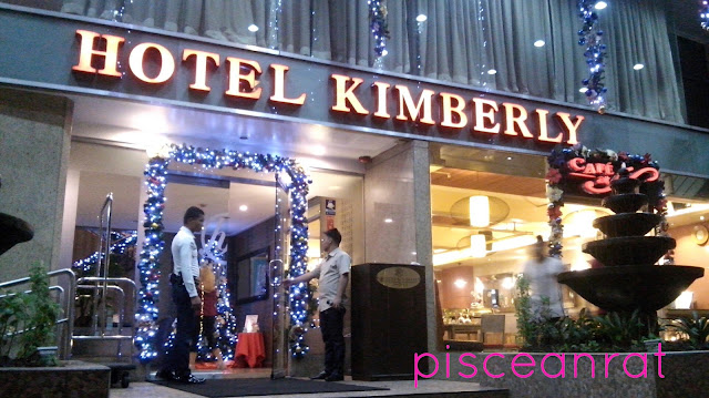 Hotel Kimberly in 770 Pedro Gil, Malate, Manila.
