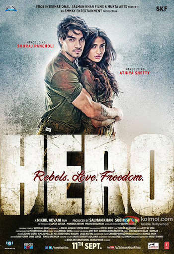 Hero 2015 Hindi DVDRip Download