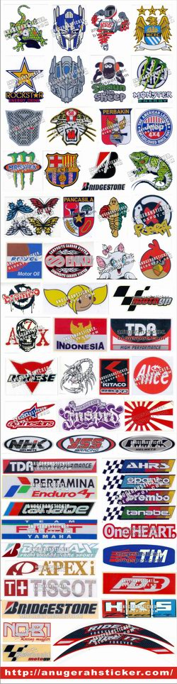 Cutting Sticker Tumpuk