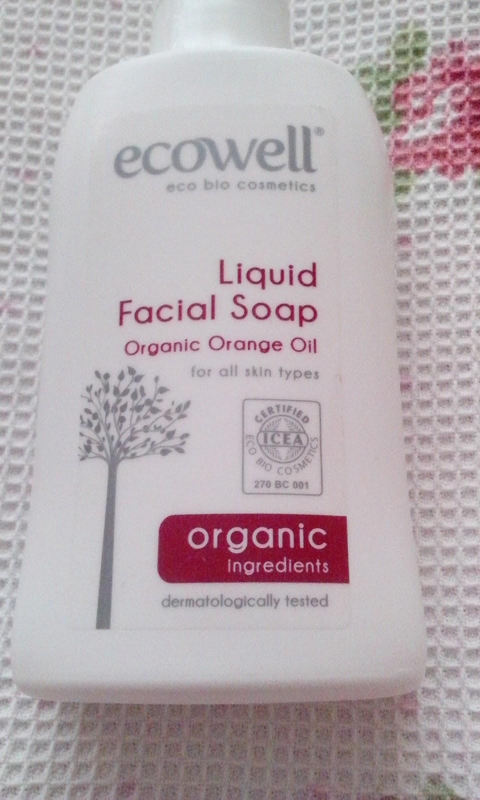 ecowell yüz yıkama jeli