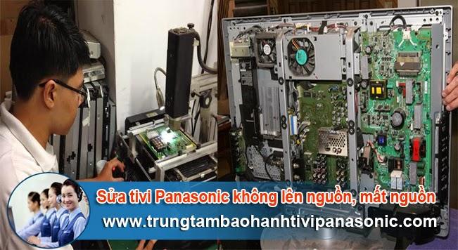 Sửa tivi Panasonic không lên nguồn, Mất nguồn