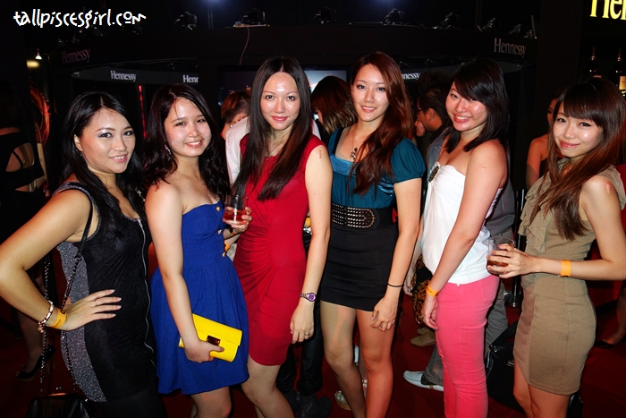 The hot chicks at H-Artistry 2012!