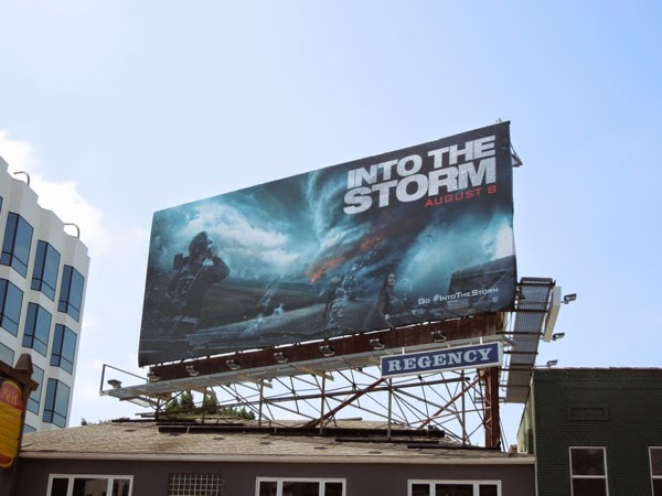 Into the Storm billboard