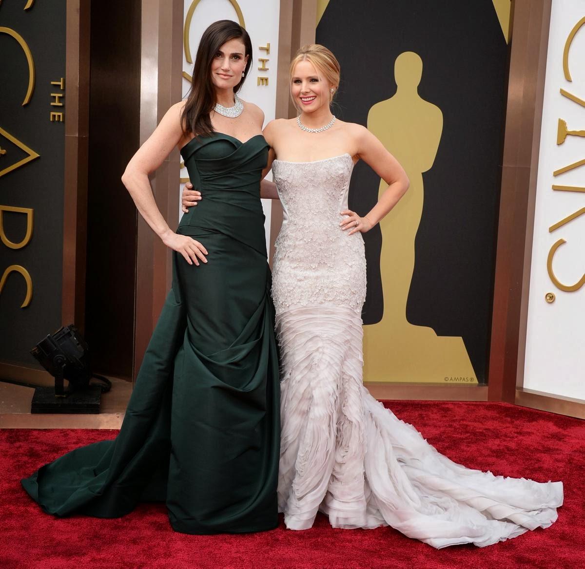 Idina Menzel & Kristen Bell