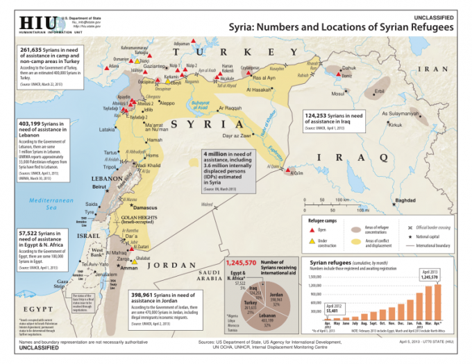 ... for the People of Syria (OCHA et al., April 2013) [ text via ICMC