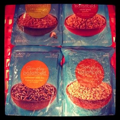 Vegetarian Vegan Food Groceries at Target Ready to Eat Grains Quinoa, Garlic & Olive Oil Quinoa, Wild Rice, and Farro