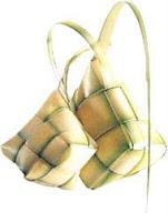 Macam-Macam jenis Bentuk Ketupat bawang