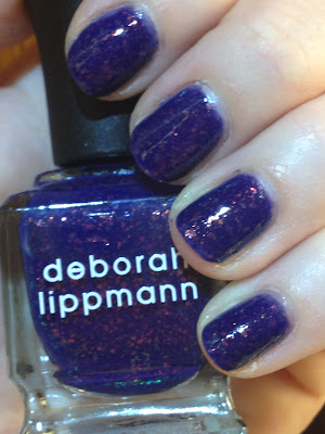 Deborah Lippmann, Deborah Lippmann nail polish, Deborah Lippmann Ray Of Light, Deborah Lippmann swatches, swatch, swatches, nail polish swatch, nail polish swatches, nail, nails, nail polish, polish, lacquer, nail lacquer, mani, manicure, Deborah Lippmann mani, Deborah Lippmann manicure