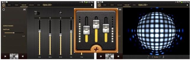تطبيق مجاني لمعادلة وتحسين وتشغيل الصوتيات علي أندرويد Equalizer + mp3 Player Volume APK 1.1.6