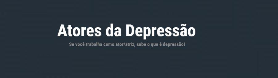 Atores da Depressão