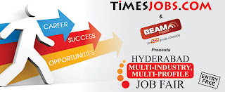 Job Fair in Hyderabad 2013 For Freshers in May