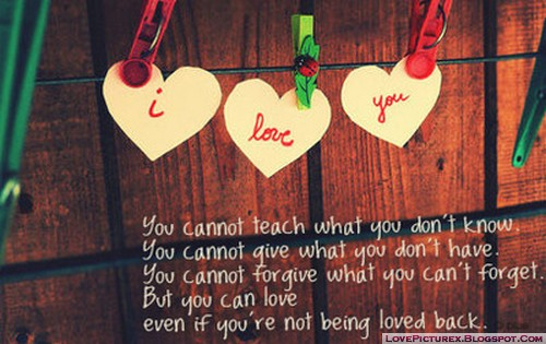 saying, I love you, quotes