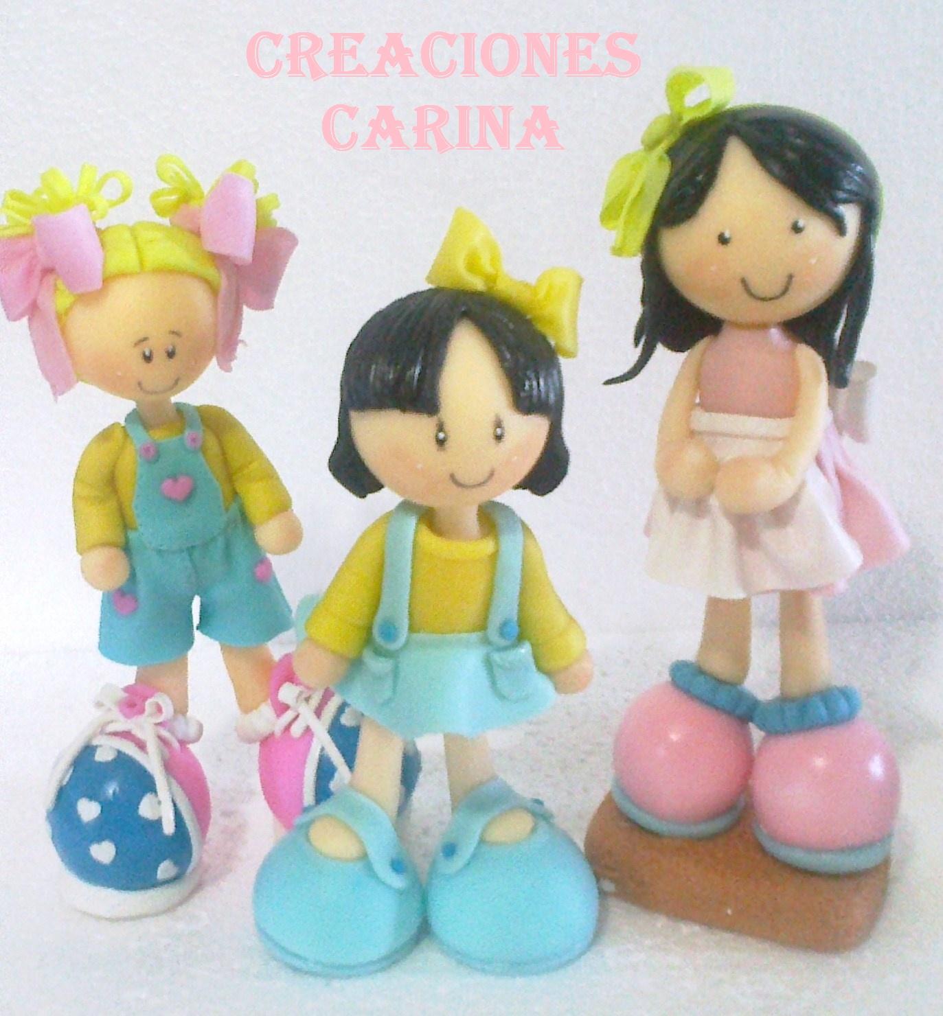 Muñecos y Decoraciones en Porcelana Fria