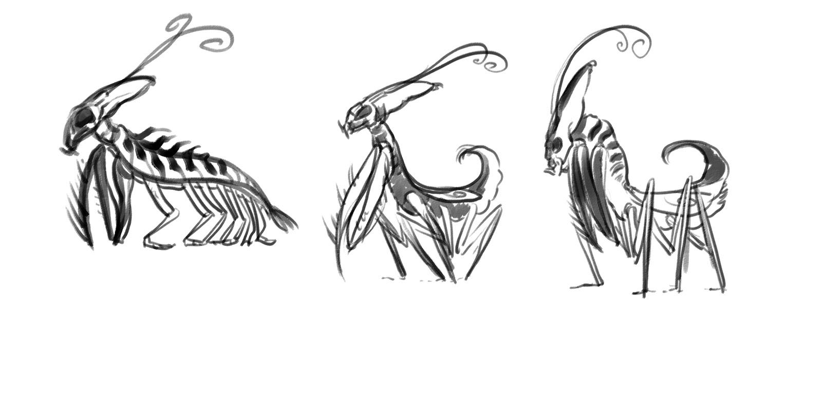 Dark Waters: creature design: September 2012