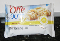 Fiber One lemon bar