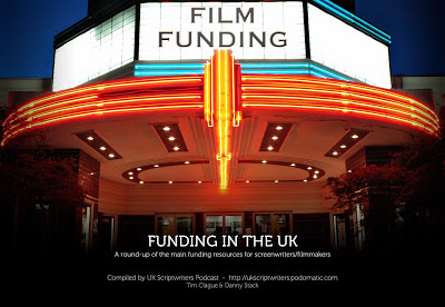 Film funding UK - a booklet on where to get script and film funds