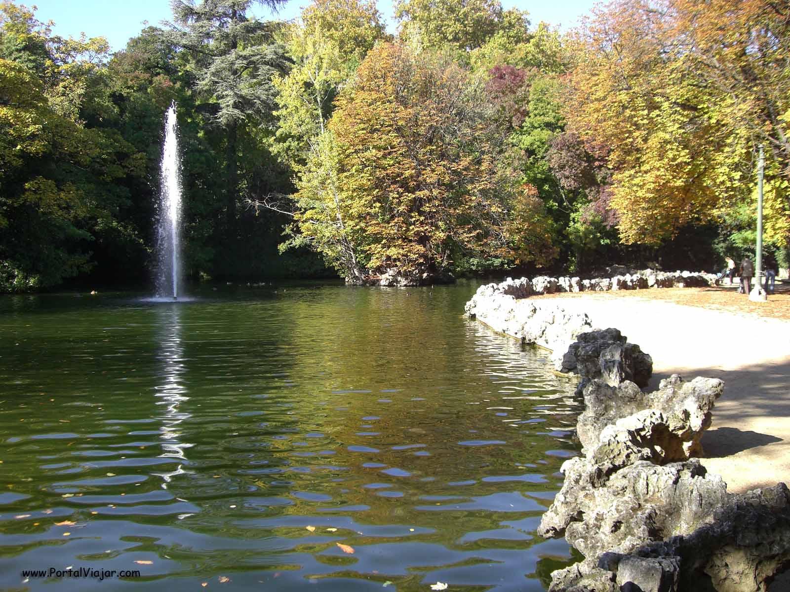 Turisteando parque del campo grande valladolid Estanque grande