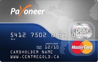 Cara Membuat Kartu Kredit Payoneer