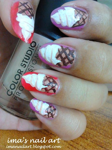 ima's nail art ice cream