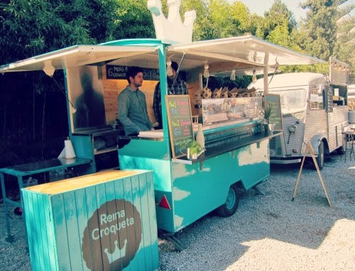 Fooda truck Reina Croqueta