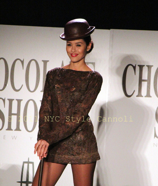 2011 Chocolate Show New York Fashion Show Chicago Tribute Nyc Style A Little Cannoli