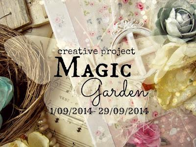 """Творческий проект """"Magic Garden"""""""
