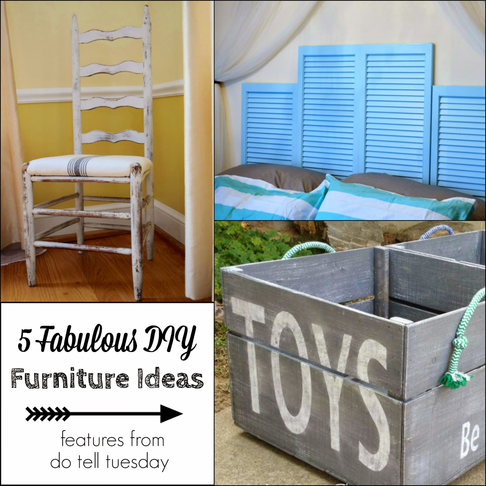 Diy Furniture Projects 5 Diy Furniture Projects Do Tell Tuesday 58 Dianes Vintage
