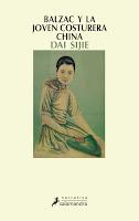 """""""Balzac y la joven costurera china"""" de Dai Sijie."""