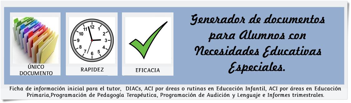 Generador de documentos para ACNEEs