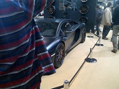 hot car in Tokyo Auto Salon 2012