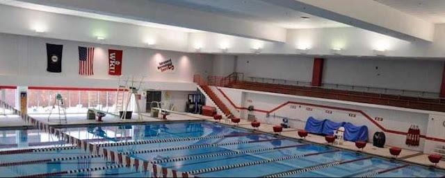 Swimming Pool Postcard Western Kentucky State Teachers College Bowling Green Kentucky