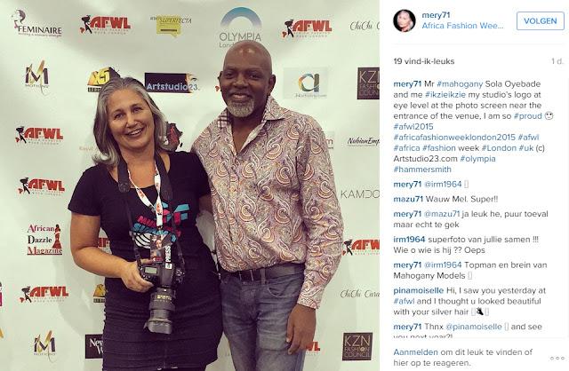 Mr. Mahogany Sola Oyebade and Melanie E. Rijkers