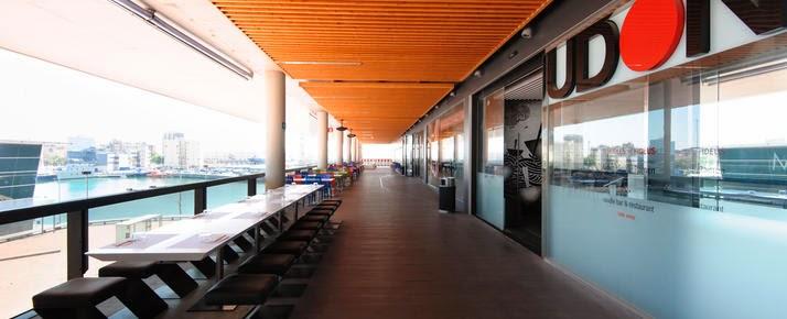 terraza udon maremagnum barcelona