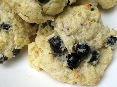 blueberry cottage cheese scones