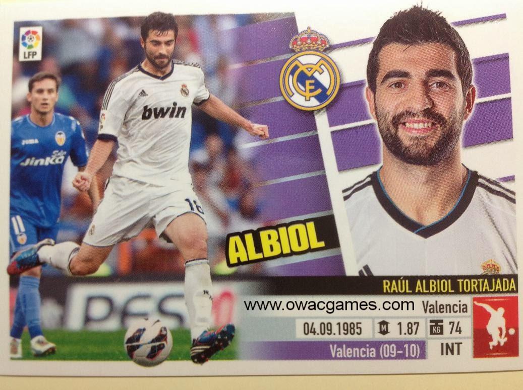 Liga ESTE 2013-14 Real Madid - 6B - Albiol