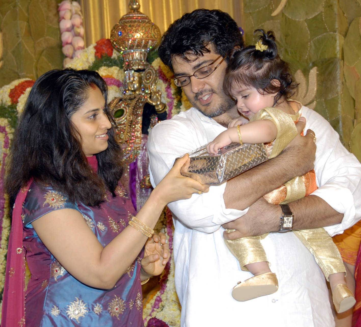Wallpapers Ajith Shalini Wedding