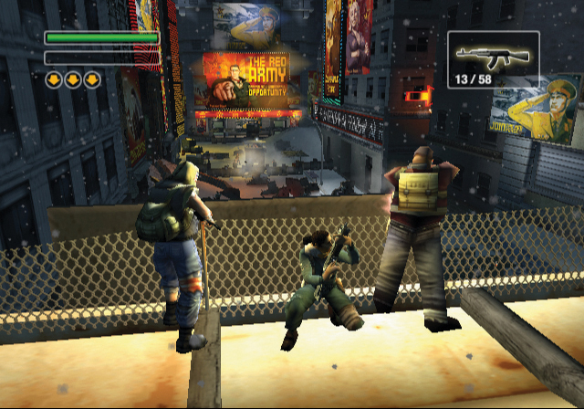 Freedom Fighters 1 Game ScreenShot