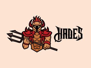 Hades Mascot Logo
