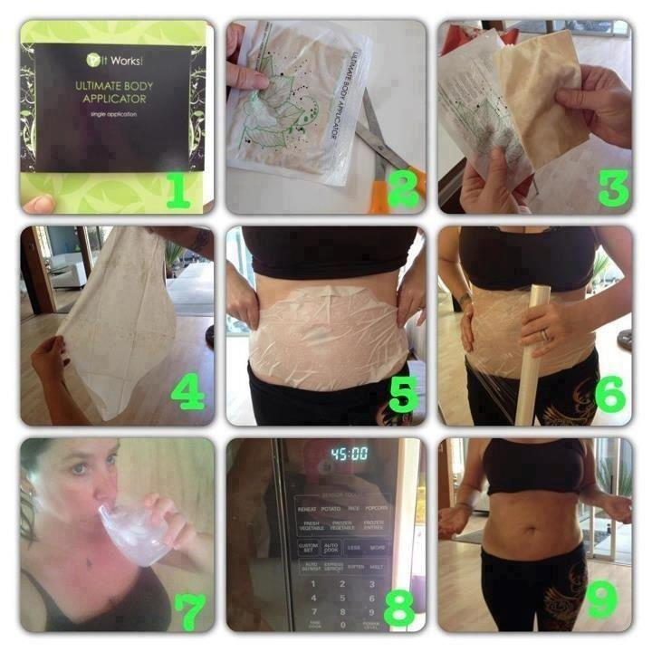 45 Minute Skinny Wrap Instructions