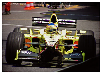 Jarno Trulli Jordan Monaco Grand Prix 2001