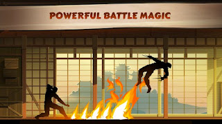 Screenshots of the Shadow Fight for Android tablet, phone.