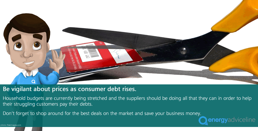 Be vigilant about prices as consumer debt rises