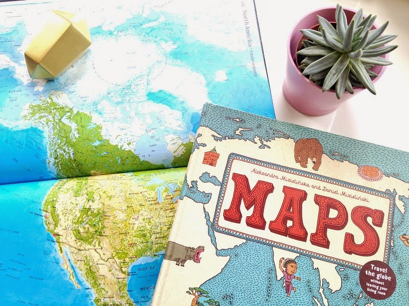 world maps at home