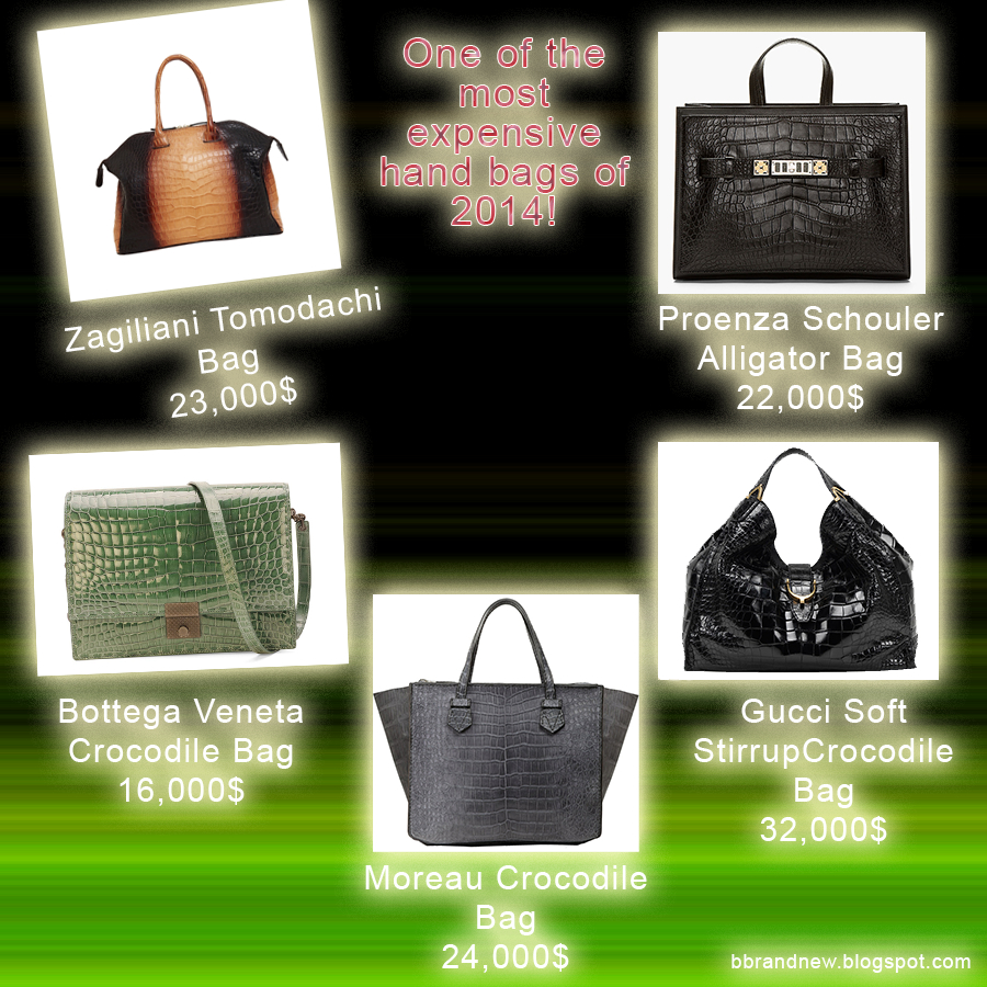 Most expensive bags in 2014!