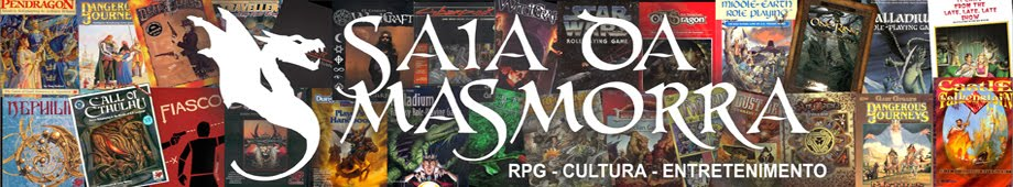 Saia da Masmorra - RPG, Cultura, Atividade Lúdica e Entretenimento.