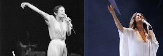 Elis Regina e Maria Rita cantando