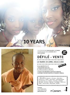Défilé Casa Palabre M'Panam 2011 : Petites Fabriques de grands souvenirs !