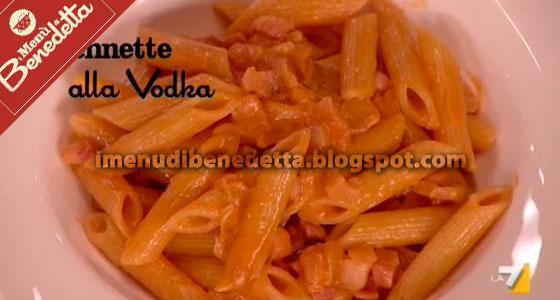 Pennette alla Vodka di Fabio Caressa e Benedetta Parodi