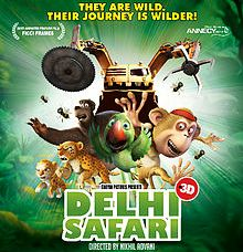 Watch Delhi Safari (2012) Hindi Movie Online